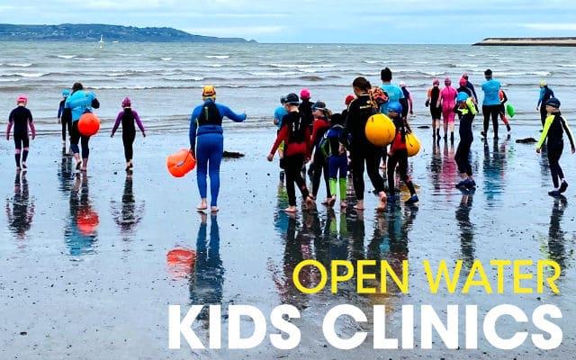 Kids Open Water Swimming Dublin